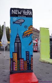 Bout du Mur décoré