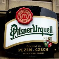 Boire une petite Pilsner
