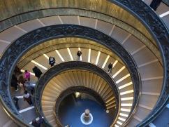 Escalier monumental du musée