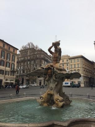 Fontaine de la piazza Barberini