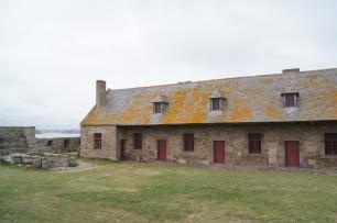 A l'intérieur du Fort