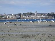 Sur le Chemin des Douaniers : vue sur Saint Malo
