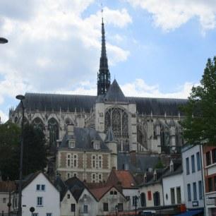 Vue sur la Cathédrale depuis Saint Leu