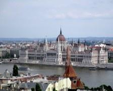 Vue sur le Parlement depuis le Bastion