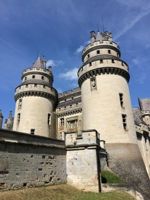 Chateau du Moyen Age, reconstruit au XIXeme Siècle