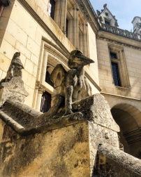 Dans la Cour du Château : des animaux exotiques !