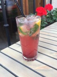 Limonade fraise-basilic
