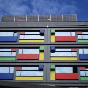 Immeuble moderne du quartier de la gare