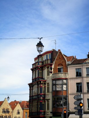 Façade du Vieux Lille