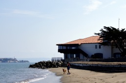 Petite plage de la Marina