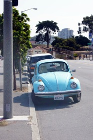 Voiture californienne !