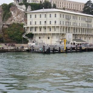 Arrivée sur l'Ile d'Alcatraz
