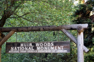 Entrée de Muir Woods