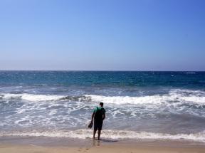Trempette dans le Pacifique