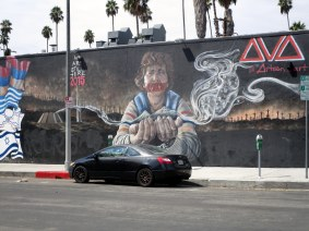 Graff sur Hollywood Boulevard