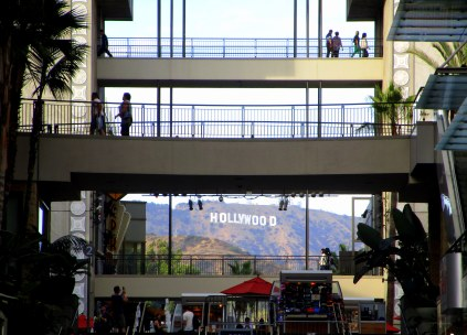 Vue sur le Hollywood Sign