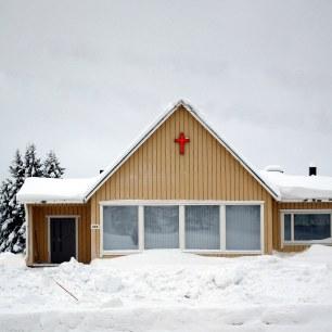 Eglise d'Enontekio - Laponie 2018