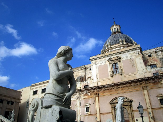 54. Sicile - Palerme - EnMaudVoyages- Piazza Pretoria