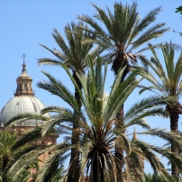 Vue sur la Cathédrale depuis Villa Bonanno