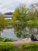 Une pause au Jardin botanique - Copenhague