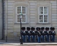Amalienborg Slot - Relève de la Garde
